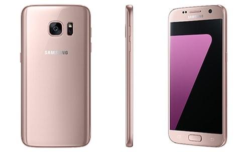 Le Samsung Galaxy S7 disponible en «pink gold»