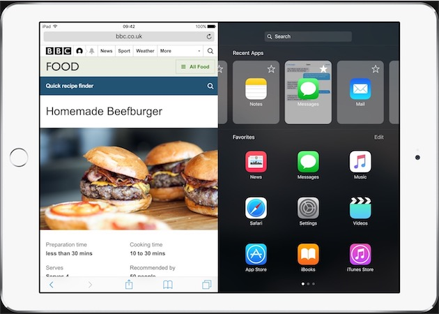 Sélecteur d'apps pour le multitâche: espérons qu'Apple a effectivement une idée comme celle-ci pour iOS10.