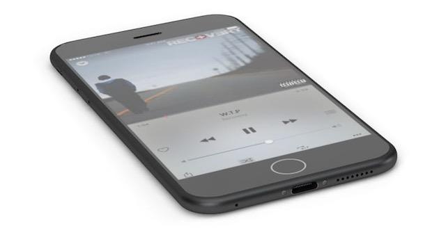 Les rumeurs les plus récentes évoquent plutôt un iPhone6s à peine révisé, peut-être affiné en retirant la prise jack, comme sur ce concept.