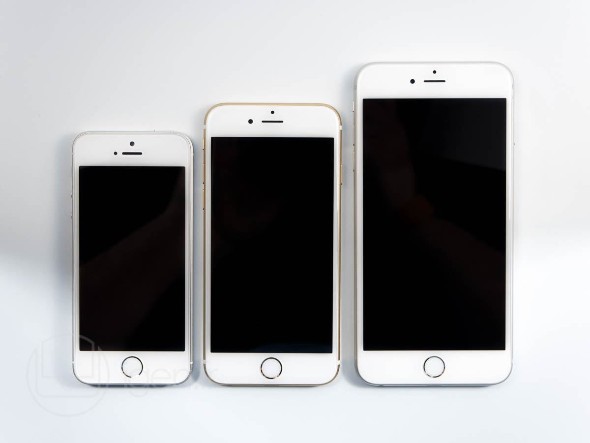 taille ecran iphone se