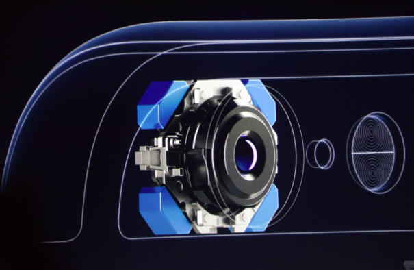 Conception de l'appareil photo de l'iPhone 6 (image Apple)
