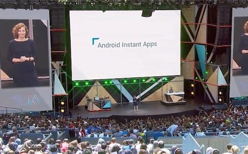 Google I/O 2016 : Instant Apps pour tester une app sans l'installer
