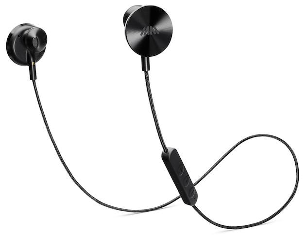 La grosse partie en noir à l'arrière de l'écouteur est censée représenter un disque vinyle, d'où le nom des écouteurs. En regardant de plus près, on devine des sillons.