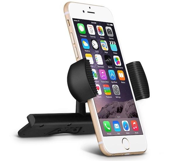 un support smartphone pour voiture glisser dans le. Black Bedroom Furniture Sets. Home Design Ideas