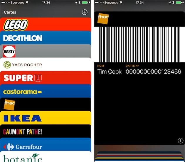 Carte Auchan Wallet.Ajoutez Facilement Vos Cartes De Fidelite Dans Wallet Avec