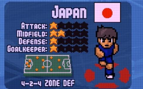 Le sympathique jeu d'arcade Pixel Cup Soccer 16 offert cette semaine