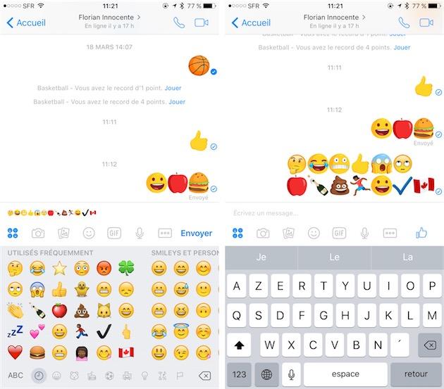 Messenger Remplace Tous Les Emojis Par Ses Dessins Igeneration