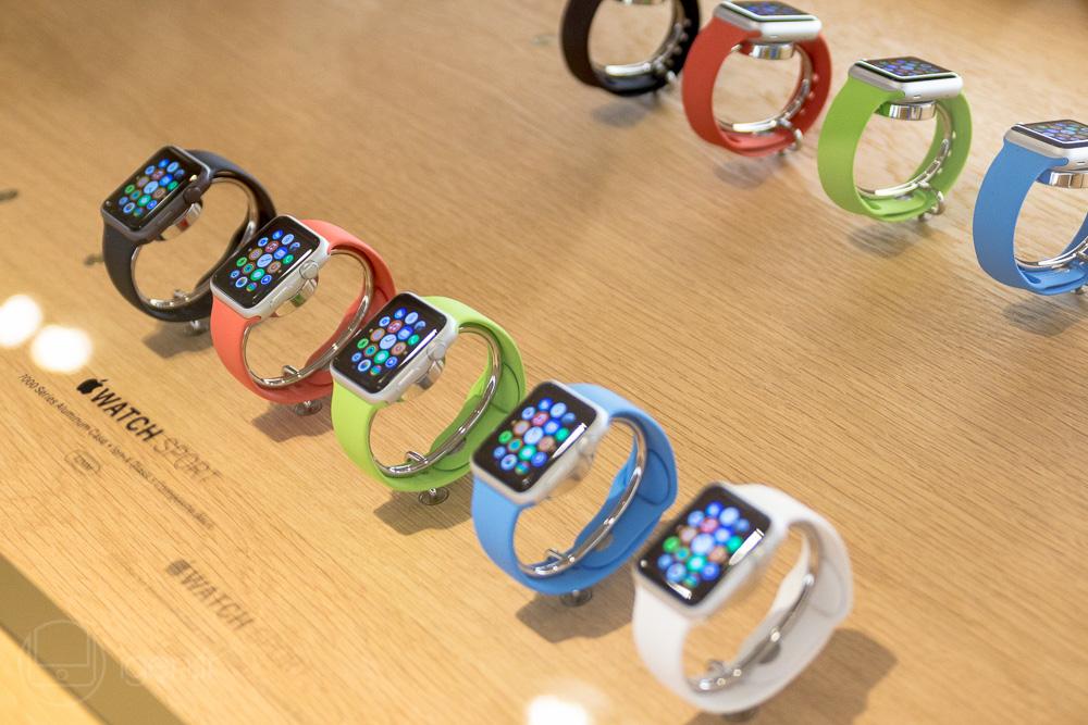L'Apple Watch est le seul produit Apple qui exploite un écran OLED.