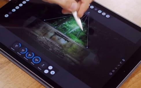 Premier aperçu en vidéo d'Affinity Photo sur iPad
