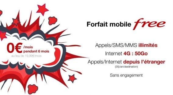 forfait free mobile vente privee 2016