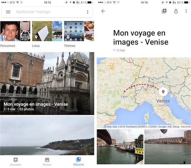 Google Photos propose des fonctions similaires à celles de Photos depuis plus d'un an.