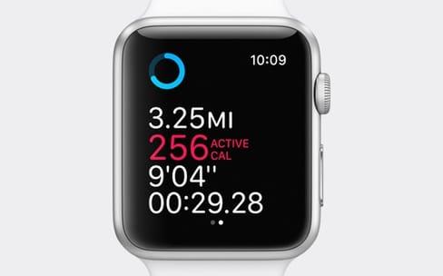 watchOS 3 : des plans dans Activité et une pause automatique dans les courses
