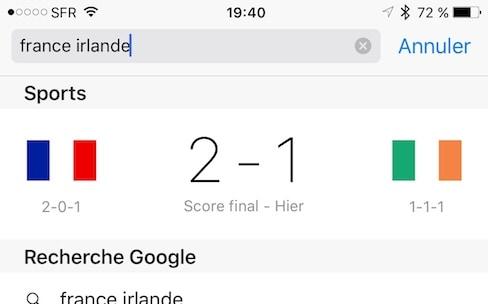 Apple découvre l'Euro 2016, mais oublie de prévenir Siri