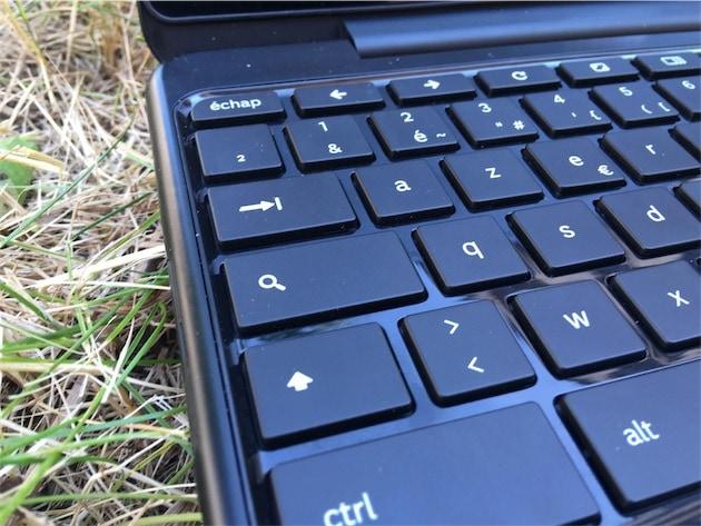 Tous les Chromebook sont fournis avec un clavier spécifique qui fait la part belle à la touche de recherche.