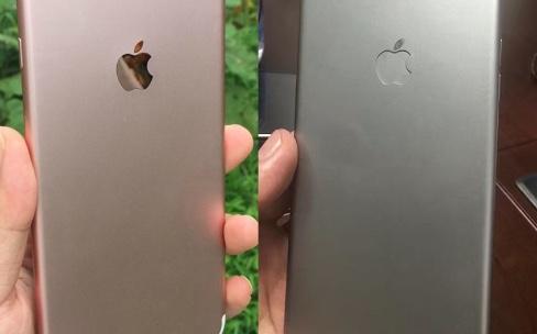 L'iPhone7 et le 7Plus tous les deux en photos