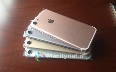 Quatre iPhone7 en photo et des questions sans réponses