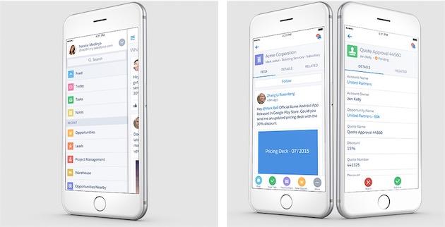 Salesforce a une solution radicale contre la fragmentation d 39 android igeneration - Solution radicale contre les souris ...