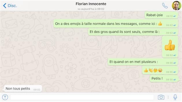 whatsapp agrandit à son tour les emojis igeneration