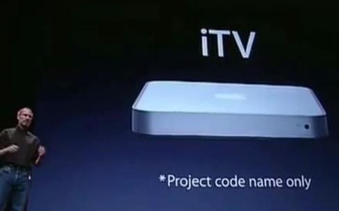 Steve Jobs avait dans l'idée d'acheter la marque ITV