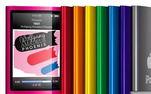 Apple n'a pas oublié l'iPod nano