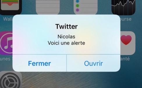 iOS 10 : les notifications