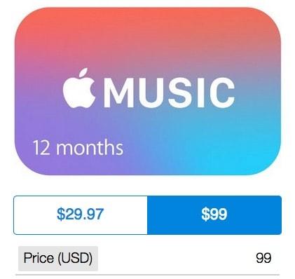 Carte Cadeau Apple.Des Cartes Cadeaux Apple Music De 12 Mois A 99 Maj En France