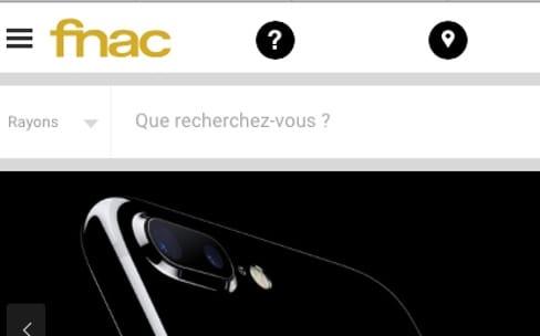 La Fnac propose déjà l'iPhone7 en précommande