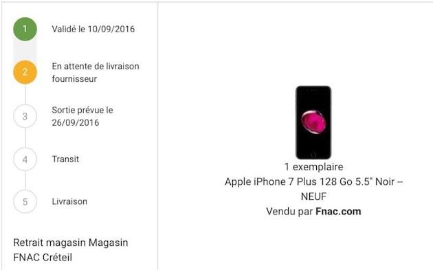 Des Precommandes D Iphone 7 Repoussees A La Fnac Igeneration