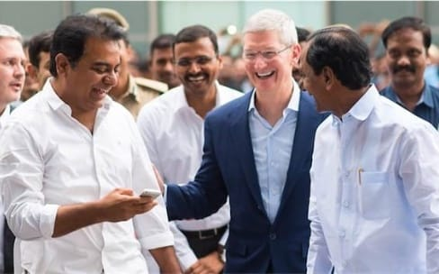 Apple va implanter une usine d'iPhone en Inde, d'après un ministre local