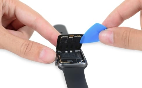 L'AppleWatch Series2 muscle son Taptic Engine