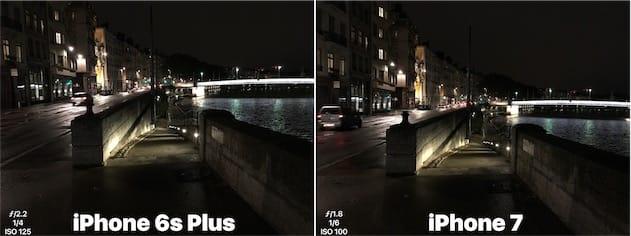 iPhone6sPlus contre iPhone7. Cliquer pour agrandir