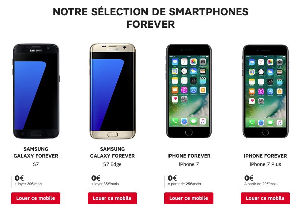 Location Iphone Sans Forfait