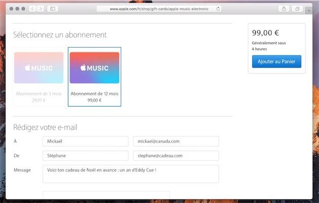 Carte Cadeau Apple.La Carte Cadeau Apple Music A 99 Disponible En Ligne Igeneration