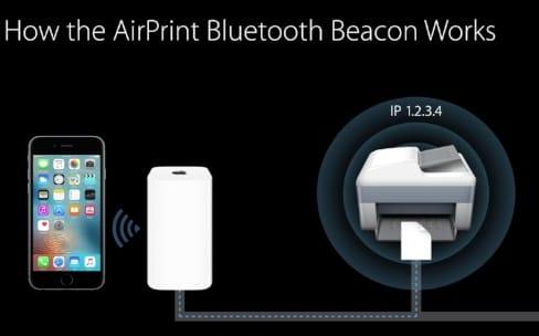 iOS10: AirPrint Beacon simplifie la connexion aux imprimantes