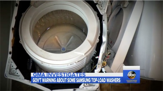 des lave-linge samsung peuvent exploser à l'essorage   igeneration