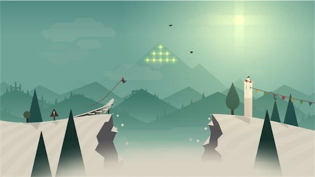 Alto's Adventure, l'un des rares jeux à exploiter le Taptic Engine et à être vraiment enrichi par cette dimension supplémentaire.