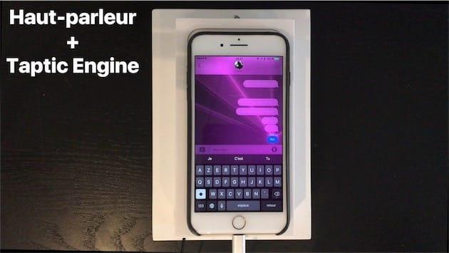 Les effets d'écran de Messages sont enrichis par le Taptic Engine avec iOS10. Et c'est l'une des utilisations les plus intéressantes des retours haptiques…