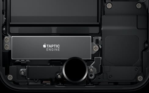 Comment iOS 10 utilise le Taptic Engine de l'iPhone 7