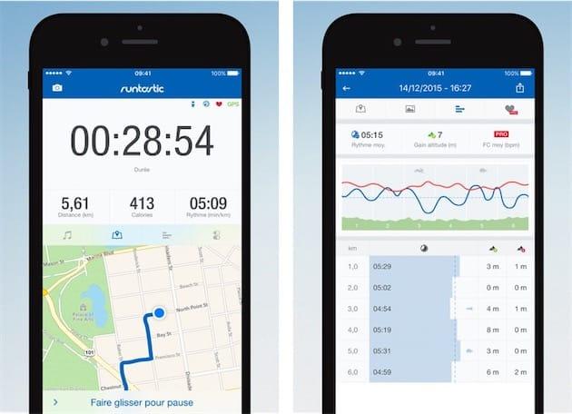 Runtastic dispose aussi d'une application Apple Watch, mais celle-ci ne  prend toujours pas en charge le GPS de l'Apple Watch Series 2,  contrairement à Nike+ ...