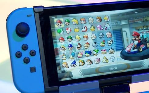 Prise en main de la Nintendo Switch et de ses premiers jeux