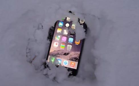L'iPhone 7 moins sensible au froid que les autres smartphones