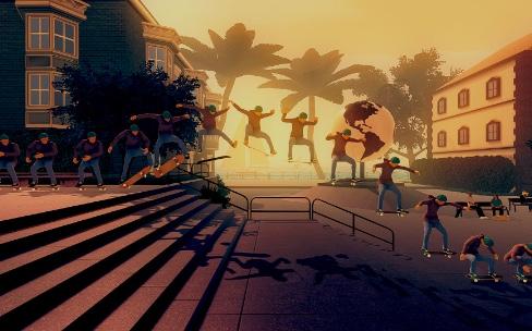 Skate City, le petit frère d'Alto's Adventure se montre en vidéo