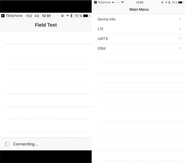 Le mode field test s'adapte à tous les écrans sous iOS 10 3