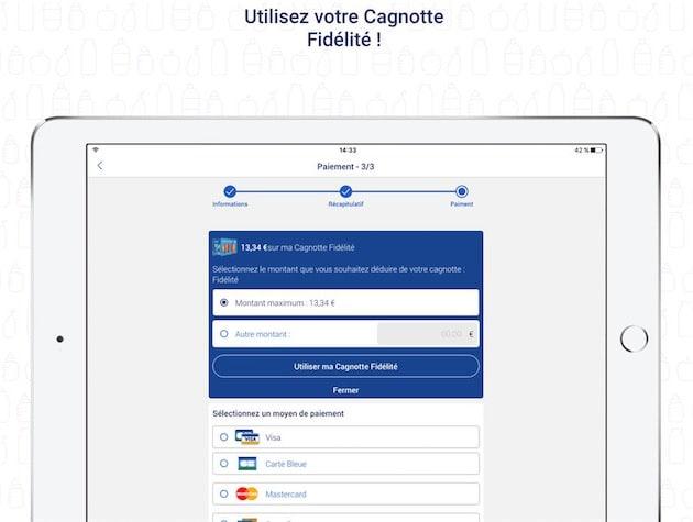Carte Carrefour Virtuelle.Carrefour Drive Faites Vos Courses Sans Quitter L Iphone