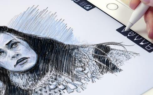 Linea, un carnet de croquis simple et efficace pour l'iPad Pro et l'Apple Pencil