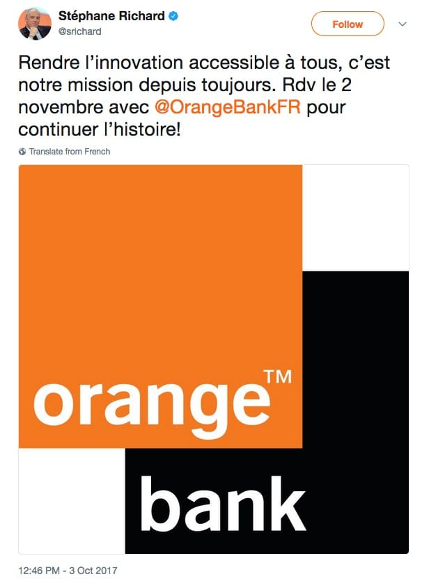 bc1707e6bf73dc Orange Bank sera lancé le 2 novembre [MAJ : officiel] | iGeneration