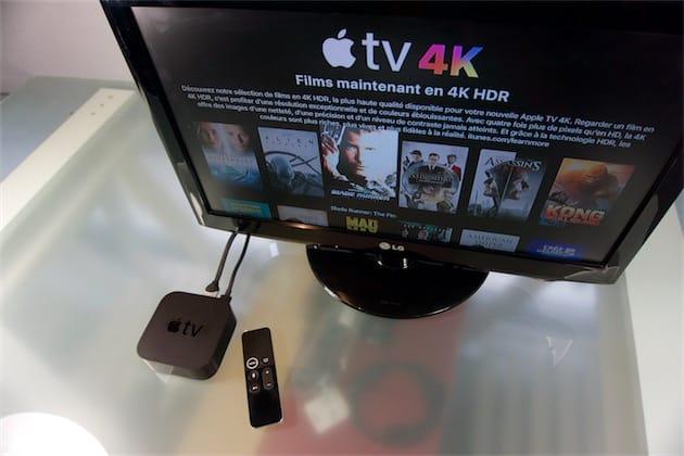 que faire avec apple tv
