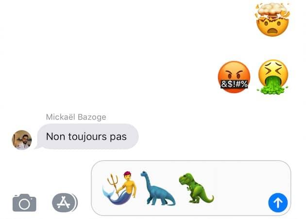 De nouveaux emojis ! 🎉🍾👏 Cliquer pour agrandir