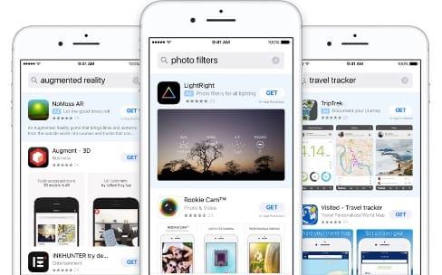 Des pubs dans l'App Store en Suisse, au Canada et au Mexique