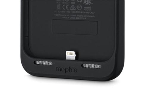 À défaut d'une Smart Battery Case, une coque de mophie pour l'iPhone8